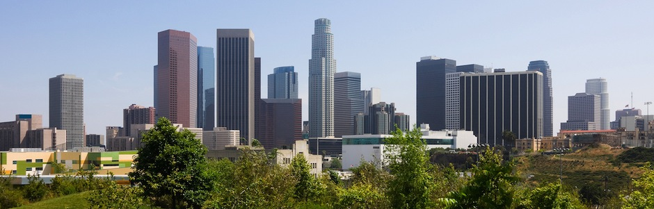 Picture of Los Angeles downtown skyline