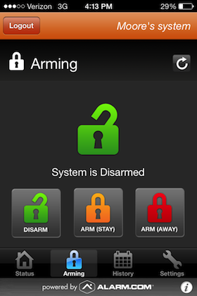 SECURITY APPLICATIONS | Home Security Systems