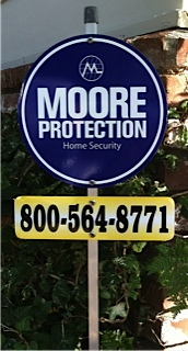 Moore Protection sign